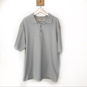 Grand Slam Shirts - Grand Slam beige short sleeved golf polo